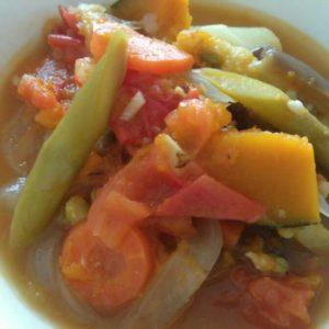 ラタトゥイユ風夏野菜煮込み
